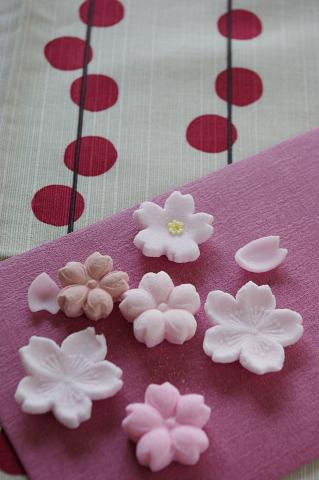 桜を使った和のコーディネート